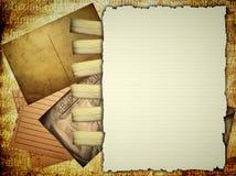 Persoonlijke documenten malplaatje Royalty-vrije Stock Afbeelding