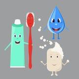 Persoonlijke hygiëne voor kinderen Stock Foto