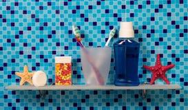 Persoonlijke hygiëneproducten Stock Fotografie
