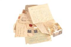Persoonlijke met de hand geschreven brief Stock Foto's