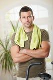 Persoonlijke trainer Royalty-vrije Stock Fotografie