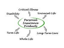Persoonlijke verzekering stock illustratie