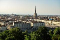 Perspecriva van het centrum van de stad van de Cappuccini-berg Stock Afbeeldingen