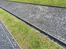Perspectief van spoorwegstijl Stock Afbeeldingen