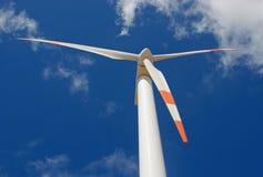 Perspectief van windmolen Stock Afbeelding