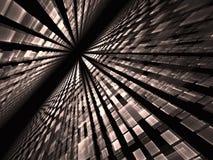 Perspectiefachtergrond - abstract digitaal geproduceerd beeld Royalty-vrije Stock Foto's