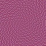 Perspectiefmening binnen een roze gebied Royalty-vrije Illustratie