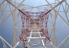 Perspectiefmening van toren Stock Foto's