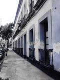 Perspectiefstraat Royalty-vrije Stock Afbeeldingen