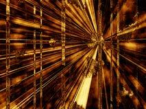 Perspectiva abstracta del fondo ilustración del vector