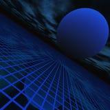 Perspectiva abstracta del horizonte Imagen de archivo
