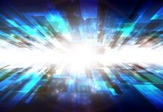 Perspectiva azul Imágenes de archivo libres de regalías