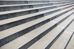 Perspectiva concreta das escadas Fotos de Stock