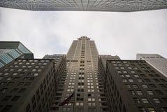 Perspectiva da construção de Chrysler Imagens de Stock Royalty Free