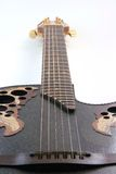 Perspectiva da guitarra da música imagens de stock royalty free