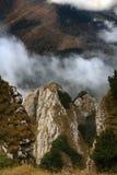 Perspectiva da montanha Foto de Stock Royalty Free