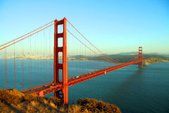 Golden gate bridge imagem de stock