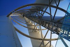 Perspectiva da torre Fotografia de Stock