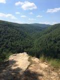 Perspectiva de Arkansas Rolling Hills imagen de archivo