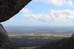 Perspectiva de la montaña imagen de archivo
