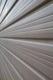 Perspectiva de la puerta del garage Imagen de archivo