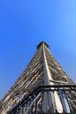 Perspectiva de la torre Eiffel Fotos de archivo libres de regalías