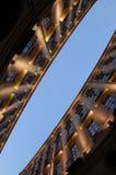 Perspectiva de las propiedades inmobiliarias Fotografía de archivo libre de regalías
