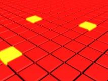 Perspectiva de los cubos Imagen de archivo libre de regalías