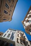Perspectiva de los edificios de la ciudad Fotografía de archivo