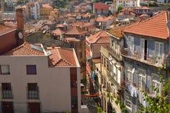 Perspectiva de uma estrada de Porto fotos de stock royalty free