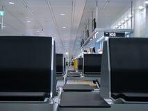 Perspectiva del aeropuerto Fotos de archivo libres de regalías