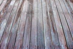 Perspectiva del tablón de madera Fotos de archivo libres de regalías