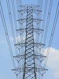 Torre de alta tensão Fotos de Stock Royalty Free