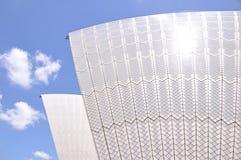 Perspectiva distinta del teatro de la ópera de Sydney Foto de archivo libre de regalías