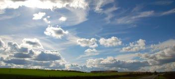 Perspectiva do céu Foto de Stock
