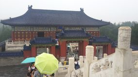 Perspectiva en el Templo del Cielo en Pekín, China fotografía de archivo libre de regalías