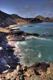 Perspectiva escénica de las Islas Gal3apagos Foto de archivo