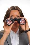 Perspectiva financiera Foto de archivo libre de regalías