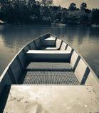 Perspectiva pessoal de um barco Foto de Stock