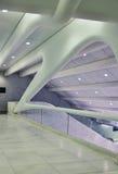 Perspectiva visual disparada da estação de metro de WTC Imagens de Stock
