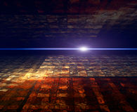 Perspective abstract background Stock Image