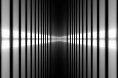 Perspective. Abstract background - bright white light in perspective Royalty Free Stock Photos