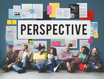Perspective Attitude Position Standpoint View Concept. Perspective Attitude Position Standpoint View Stock Photo