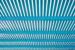 Perspective of blue lath Royalty Free Stock Images