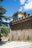 Castle of Spello. Umbria. Italy. Stock Photo