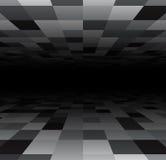 Perspective checkered surface Stock Photos