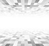 Perspective checkered surface Stock Photo