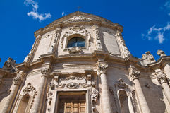 Church of St. Agostino. Massafra. Puglia. Italy. Royalty Free Stock Photography