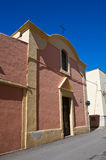 Church of St. Antonio Abate. Massafra. Puglia. Italy. Royalty Free Stock Image