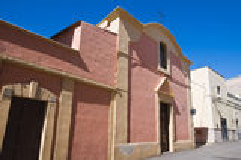 Church of St. Antonio Abate. Massafra. Puglia. Italy. Stock Image